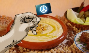 Film and Food: Make Hummus, Not War @ Center for the Arts BlackBox Theatre and Tent | Jackson | Wyoming | United States